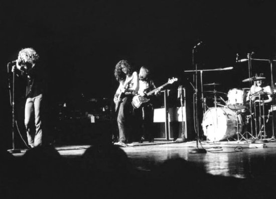 O histórico show do Led Zeppelin no Royal Albert Hall