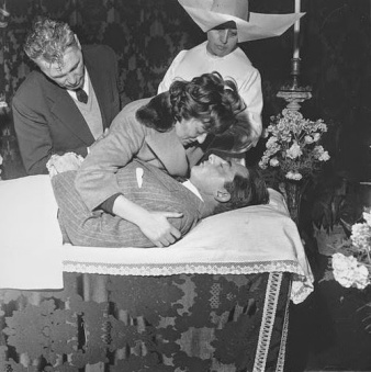Velório de Fausto Coppi