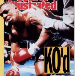 Capa da Sports Illustrated no dia seguinte à luta