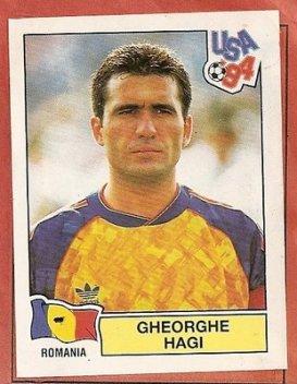 Figurinha carimbada na Copa de 94