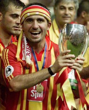 Em clube, o melhor momento foi no Galatasaray