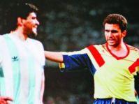Em 1990, o encontro com Diego