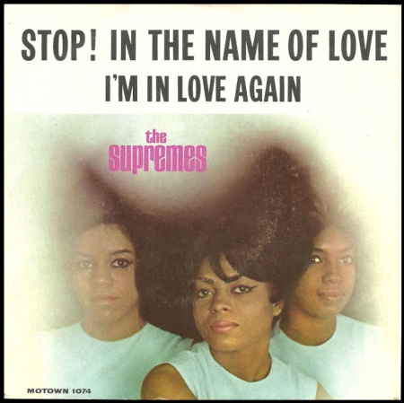 "The Supremes lançam o single ""Stop! In the Name of Love"""