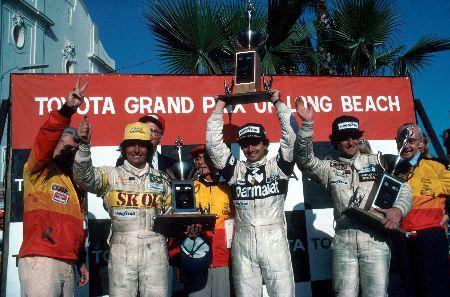 A primeira vitória de Piquet e o último pódio de Emerson