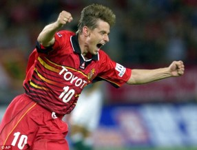 Veterano, brilhou no Nagoya Grampus