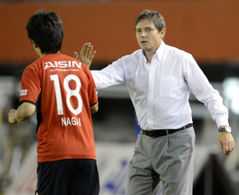 Depois, foi técnico do time japonês