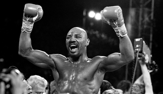 Marvin Hagler vence Thomas Hearns em Las Vegas
