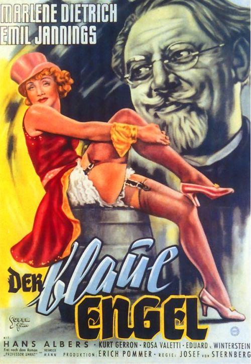 """""""O Anjo Azul"""", com Marlene Dietrich, estreia na Alemanha"""