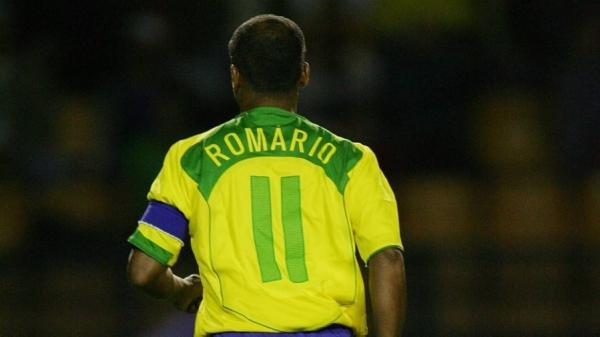 Romário se despede da seleção brasileira