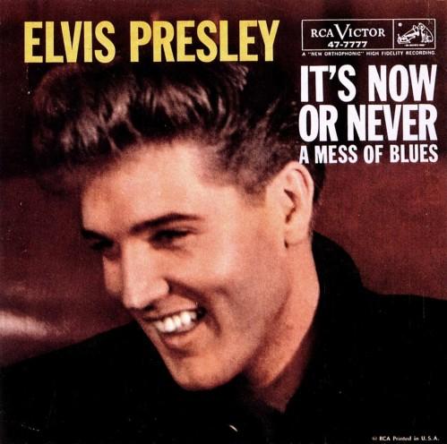 "Elvis Presley grava ""It's Now or Never"""