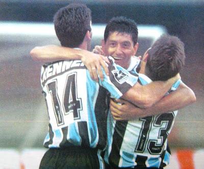 No Grêmio, a grande fase da carreira