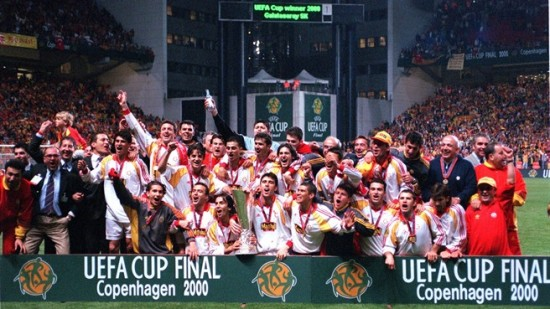 Galatasaray é campeão da Copa da Uefa