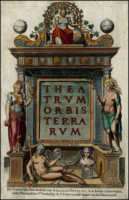 Primeiro atlas moderno é publicado na Europa