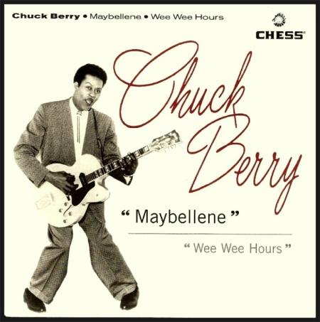 "Chuck Berry grava ""Maybellene"""