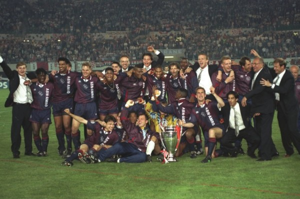 Ajax é campeão da Liga dos Campeões