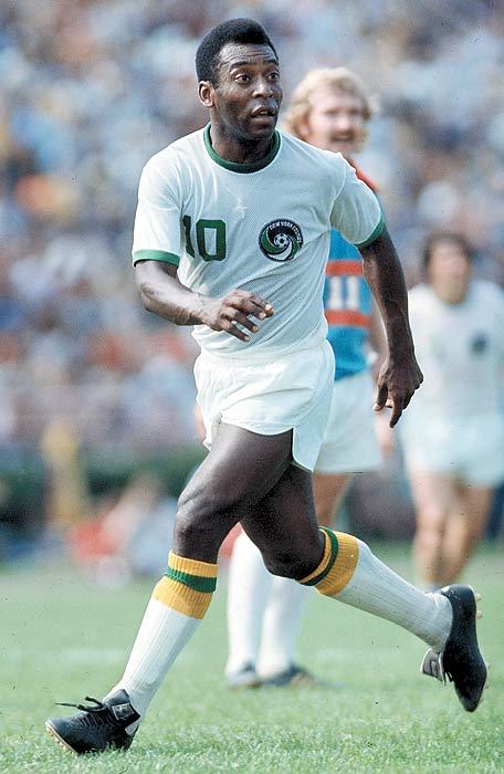 Pelé estreia pelo Cosmos