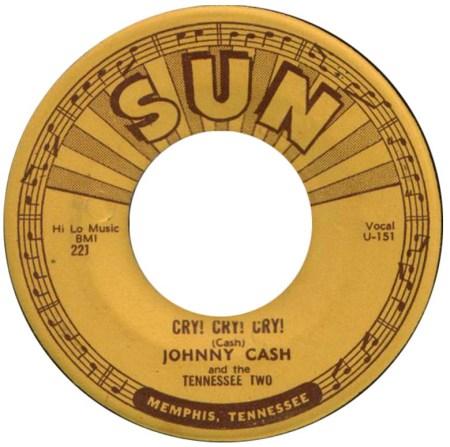 Johnny Cash lança o primeiro single