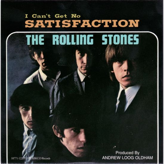 "Rolling Stones lançam ""(I Can't Get No) Satisfaction"""