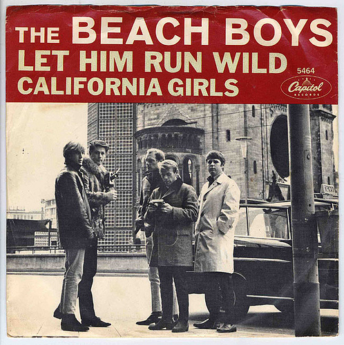 "Beach Boys lançam ""California Girls"""