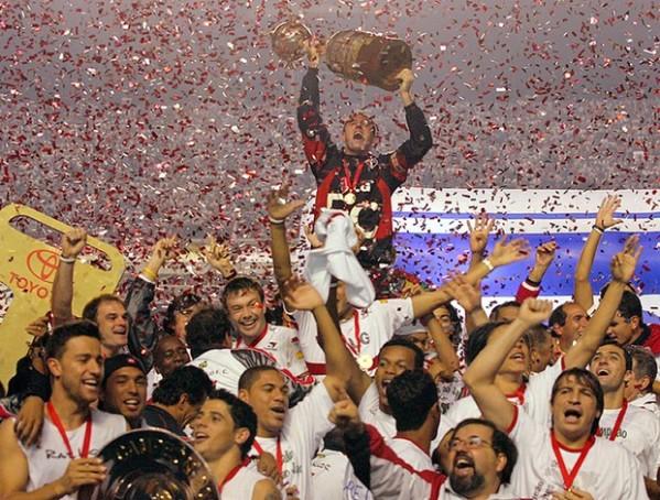São Paulo é tricampeão da Libertadores