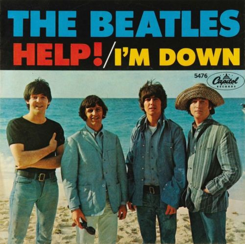 "Beatles lançam single ""Help!"" nos EUA"