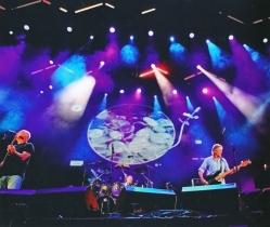 David, Nick e Roger