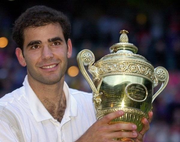 Pete Sampras vence Wimbledon pela sétima e última vez