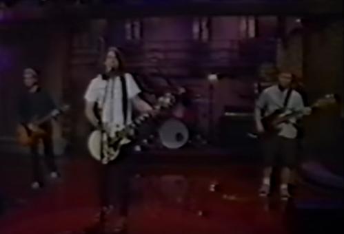 Foo Fighters aparece na TV (e no Late Show!) pela 1ª vez