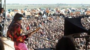 Hendrix e o mar de gente
