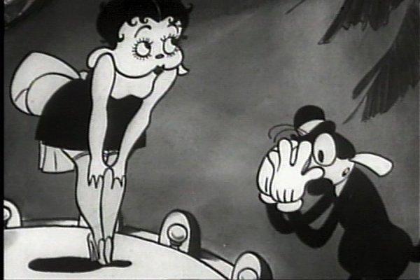 Betty Boop aparece pela primeira vez em um desenho