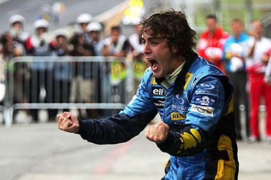Fernando Alonso conquista 1º título na Fórmula 1