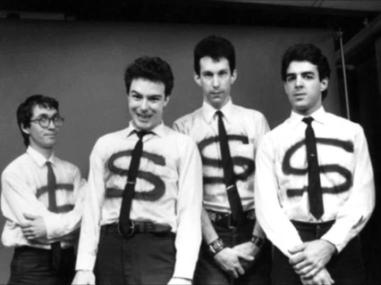 Klaus Flouride, Jello Biafra, East Bay Ray e Bruce Slesinger