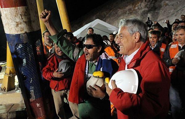 Termina o resgate de 33 mineiros no Chile