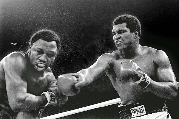 Muhammad Ali vence Joe Frazier nas Filipinas