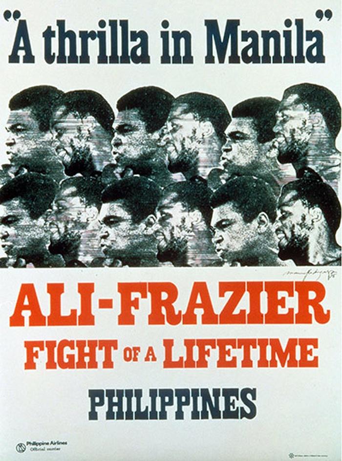 Um dos cartazes promocionais da luta