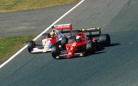 Senna conquista o bicampeonato de F1