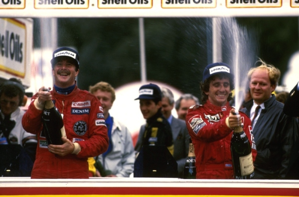 Alain Prost conquista seu 1º título na F1
