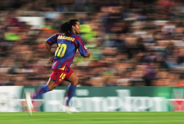 O show do Barça de Ronaldinho Gaúcho no Bernabéu