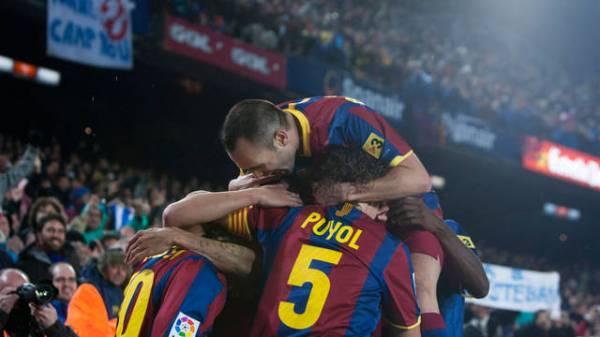 Barcelona 5 x 0 Real Madrid