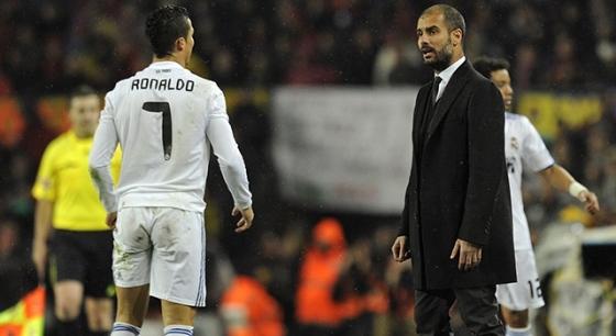 """E Pep ainda """"encarou"""" Cristiano Ronaldo!"""