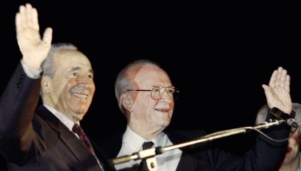 Yitzhak Rabin é assassinado em Israel
