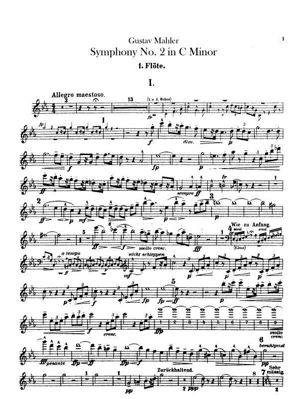 Gustav Mahler apresenta a Sinfonia nº 2 em Berlim