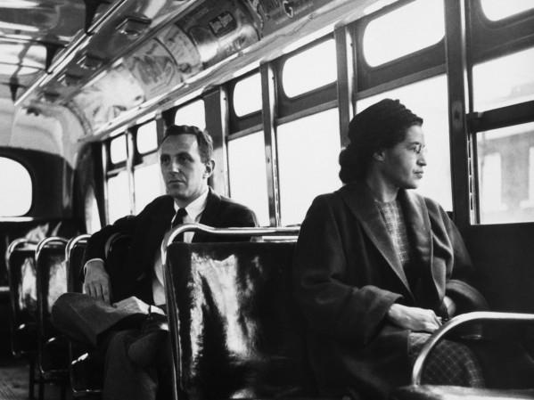 A resistência de Rosa Parks