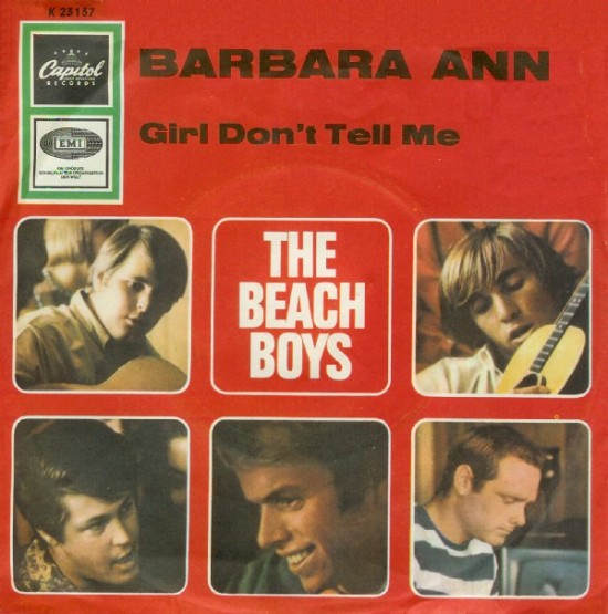 "Beach Boys lançam ""Barbara Ann"""