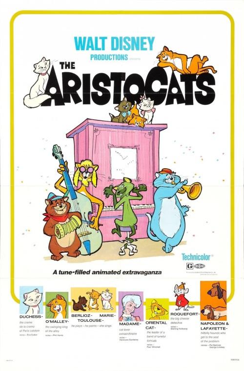 """""""Aristogatas"""" estreia nos Estados Unidos"""
