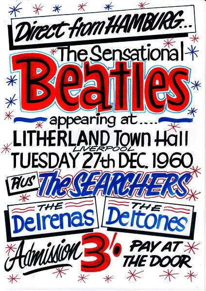 Beatles fazem show histórico em Liverpool