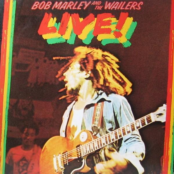 Bob Marley & The Wailers lançam o álbum Live!