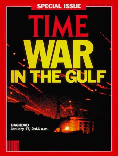 Começa a Guerra do Golfo