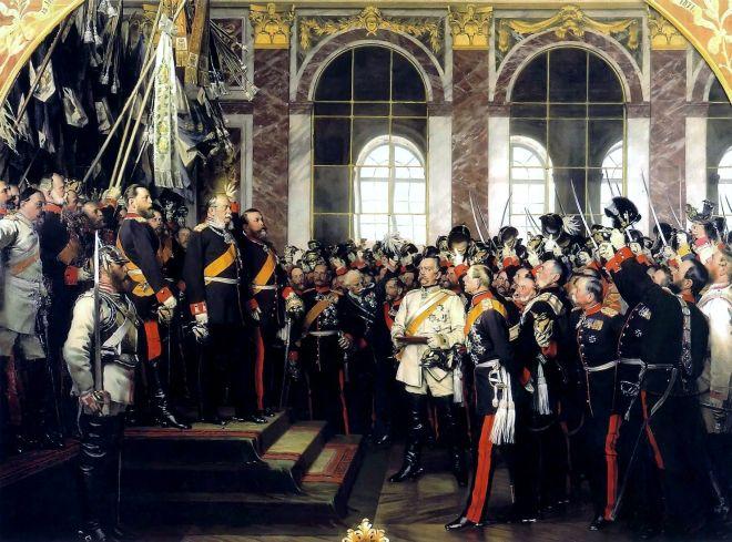 Império Alemão é fundado em Paris