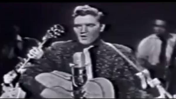Elvis Presley tem primeira aparição nacional na TV